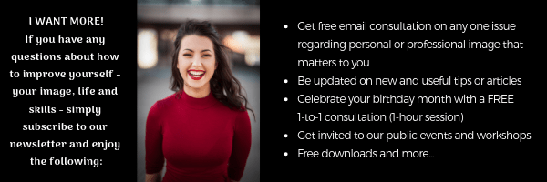 ImageXchange Newsletter Subscription Personal Image NLP Coaching Training Get more benefits and free consultation