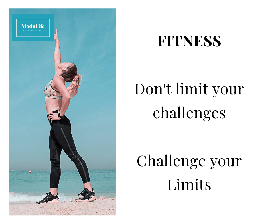 ImageXchange - Quote of the Day - Fitness - Don't limit your challenges, Challenge your limits